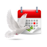 Peace day Stock Photo