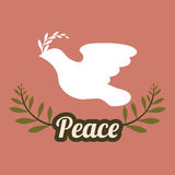 Peace design Royalty Free Stock Photography