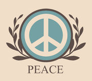 Peace design Stock Photo