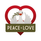 Peace design Stock Photo