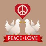 Peace design Royalty Free Stock Photos