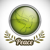 Peace design Royalty Free Stock Photo