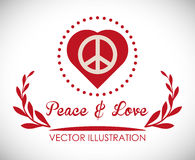 Peace design Stock Images