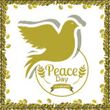 Peace design Royalty Free Stock Images