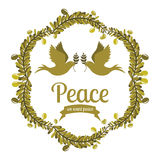 Peace design Royalty Free Stock Image