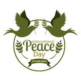 Peace design Stock Photography