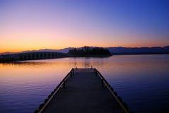 Peace dock Royalty Free Stock Image
