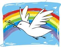 Peace Dove vector illustration