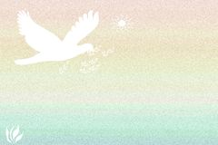Peace Dove Abstract Royalty Free Stock Image