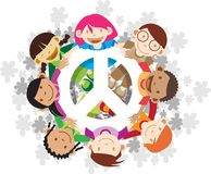 Peace on Earth Royalty Free Stock Photos