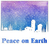 Peace on Earth. Royalty Free Stock Image