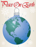 Peace On Earth Ornament Stock Images