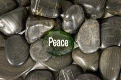 Peace Encouragement Stone Royalty Free Stock Image