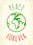Peace forever Royalty Free Stock Images