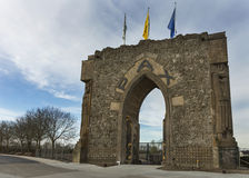 The Peace Gate in Diksmuide near Ypres. Royalty Free Stock Photography
