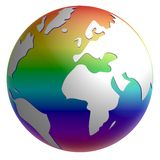 Peace globe Stock Images