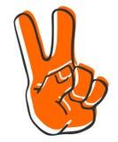 Peace hand Stock Photos