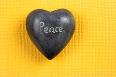 Peace hart royalty free stock images