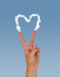 Peace Heart Stock Images