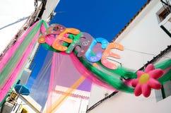 Peace Ibiza Stock Photography