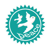 Peace icon Royalty Free Stock Images