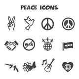 Peace icons Stock Photography