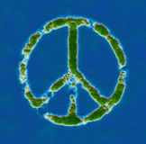 Peace island Stock Photography