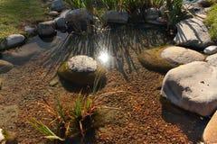 Japanese lake Royalty Free Stock Photography