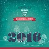 Peace, love, joy. Stock Photos