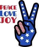 Peace Love Joy Royalty Free Stock Photo