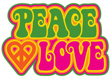 Peace and Love Stock Photos