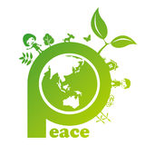 Peace mark Stock Photography