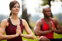 Peace Meditate Royalty Free Stock Image