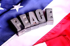 Peace Message Royalty Free Stock Photography