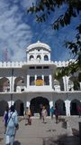 Peace of Mind. Its a sikh shrine in kiratpur sahib, punjab, india royalty free stock photography