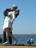 Peace monument in San Diego, California stock photos
