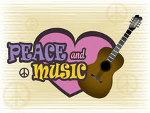Peace and music Stock Photos