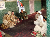 Peace Negotiation In Afghanistan Royalty Free Stock Images