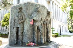 Peace Officers Memorial California State Capitol Museum Royalty Free Stock Photography