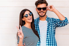 Peace out! Royalty Free Stock Photography