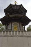 The Peace Pagoda of Battersea Park Royalty Free Stock Image