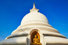 Peace Pagoda Royalty Free Stock Photography