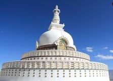 Peace Pagoda in  Ladakh. Royalty Free Stock Photos