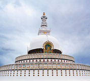 Peace Pagoda in Leh, India Royalty Free Stock Photos