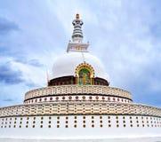 Peace Pagoda in Leh, India Royalty Free Stock Photography