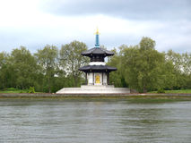 Peace Pagoda, London Royalty Free Stock Image