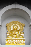 Peace Pagoda statue Stock Photo