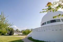 The Peace Pagoda on sunny spring day in Vienna, Austria Royalty Free Stock Photos