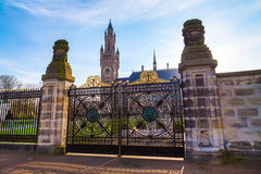 Free Peace Palace And Gate At Hague, Netherlands During Sunset Royalty Free Stock Photo - 77754615