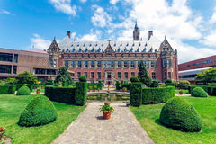 Peace Palace Backyard Royalty Free Stock Image